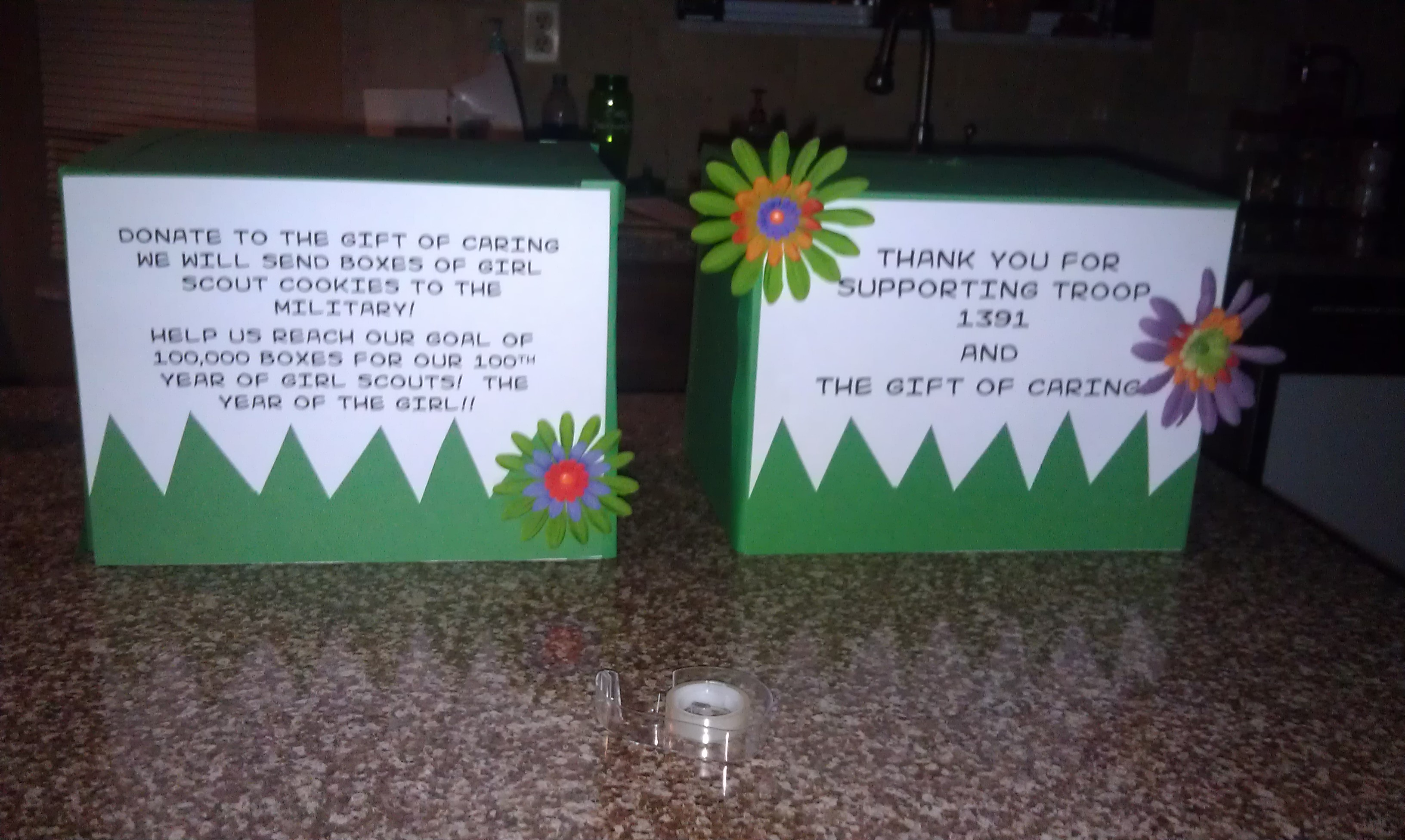 Girl scout scrapbook ideas - Our Troop S Journey Through Our First Cookie Sale Pt 2 Bling Your Booth